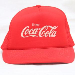 "Other - Rare 80's Vintage ""COCA-COLA"" Trucker Snapback Hat"